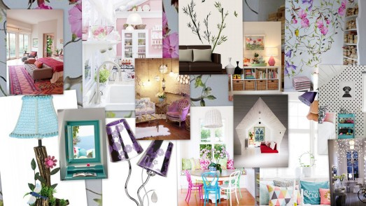 Collage created using images collected from Pinterest