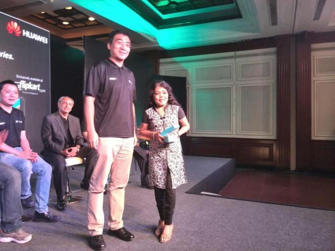 Winning Huawei Honor 6