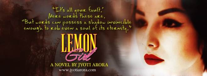 Lemon Girl, second novel by Jyoti Arora