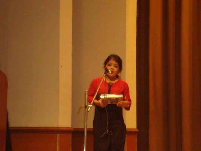 Jyoti Arora, author of Lemon Girl, speaking on Thalassemia Day